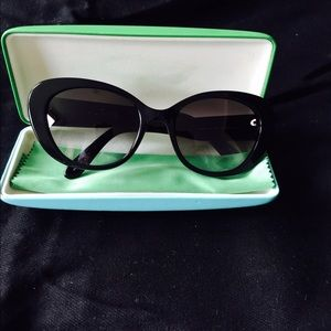Kate Spade Eye shades with case.