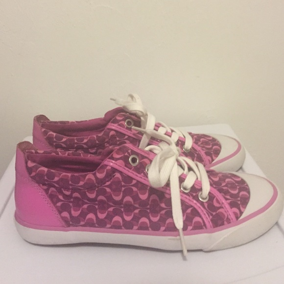 64 coach shoes pink coach sneakers from s