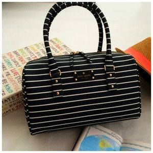 ✨HP✨ Kate Spade City Stripe Satchel