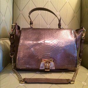 Be & D Handbags - Amazing Leather & Snakeskin Be&D Handbag!