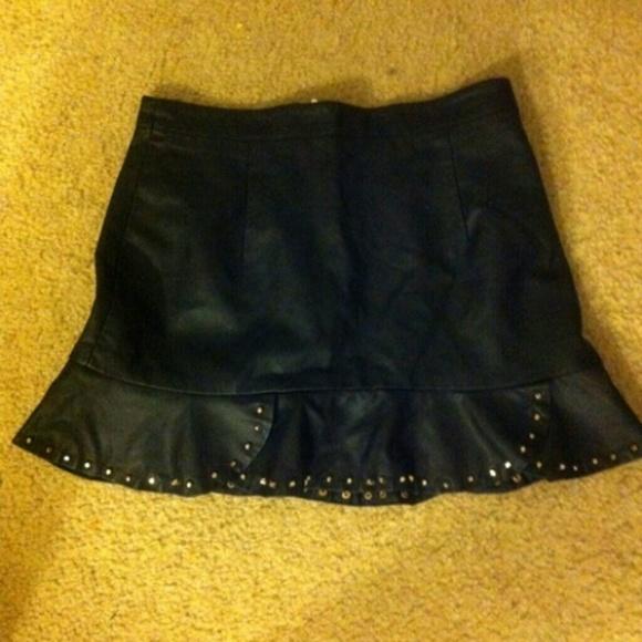 41 forever 21 dresses skirts leather tulip skirt