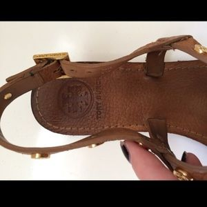 910e1496d95d01 Tory Burch Shoes - Tory burch Marge studded thong sandal-royal tan
