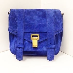 LN Proenza Schouler Suede PS1 mini Crossbody