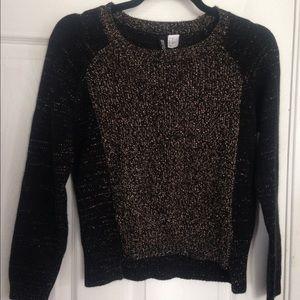 H&M Sweaters - 🚨 SOLD 🚨 HM Metallic Sweater