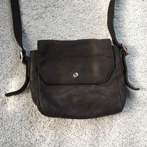 J.Crew Black Cross Body Bag