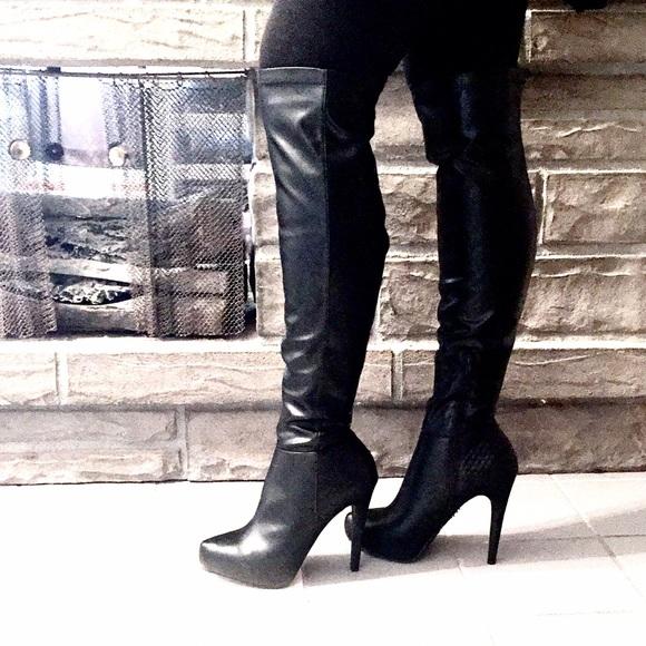 06363efee75 Sexy Jennifer Lopez Belle Knee-High Fashion Boots