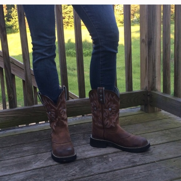 53% off Ariat Boots - Ariat Probaby brown boots from Bridget's ...