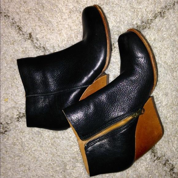 3f8536e9c33f Kork Ease Boots - Cute Black Kork Ease Natalya Booties size 7
