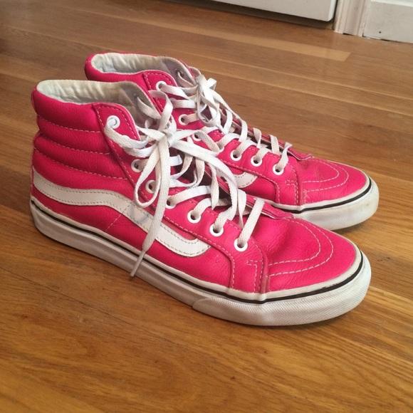 vans sk8 pink