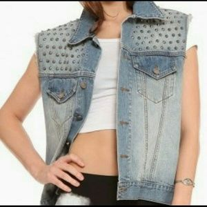 Gypsy Warrior Studded Boyfriend Vest