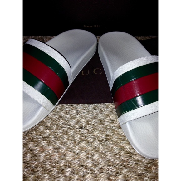 how to tell a real gucci shoes
