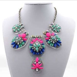 Fashion Jewelry Jewelry - Multi Color Statement Necklace