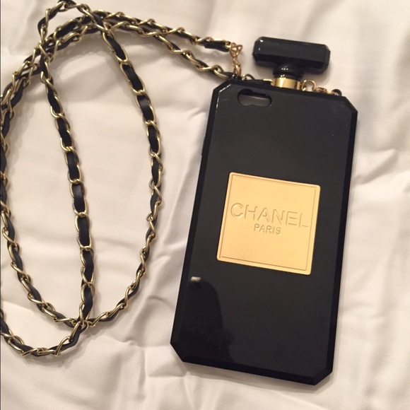 "50% off Accessories - ""Chanel"" iPhone 6 case with chain ..."