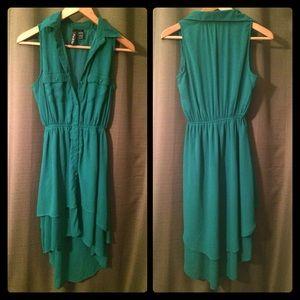 Fun & Flirt Dresses & Skirts - Green Sleeveless Dress
