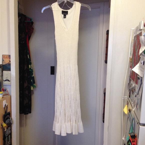 70c2b2675b0 Cynthia Rowley Dresses   Skirts - Cynthia Rowley Large Cream Sweater Dress