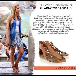 7fe5870f9acb MIA Shoes - MIA Lucille Gladiator Sandals