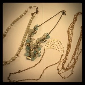 4 short necklace bundle!