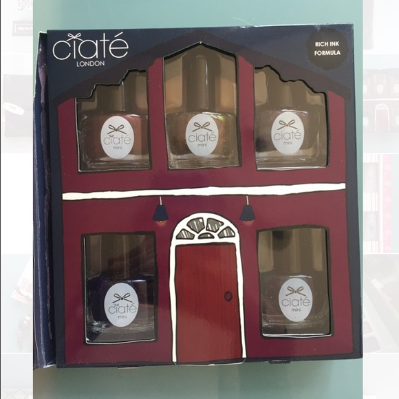 Ciate London Nail Polish: Ciate London Nail Polish Set- Haute House From