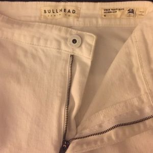 White skinny jeans PacSun