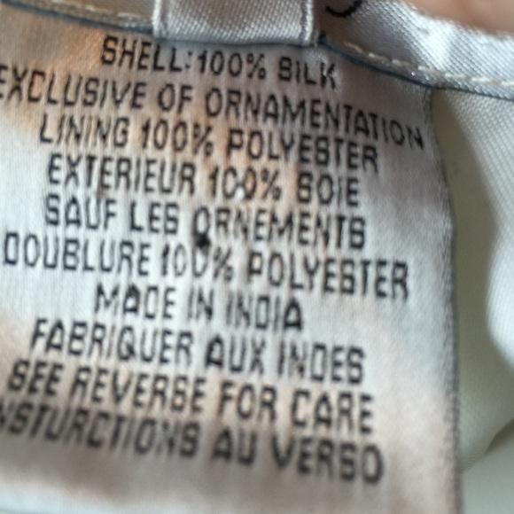 Vintage Tops - Vintage 80s Beaded Sequin Formal Top Plus sz 2X-3X