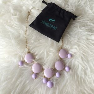 Lilac Bubble Necklace