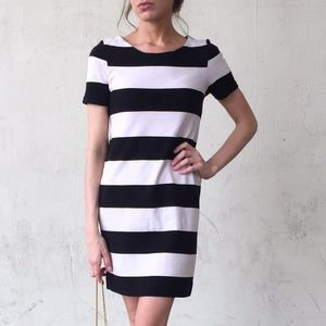 H&M Striped Shift Dress