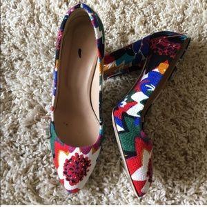 J. Crew Shoes - ❄️FINAL SALE❄️J. Crew Stella floral print heel