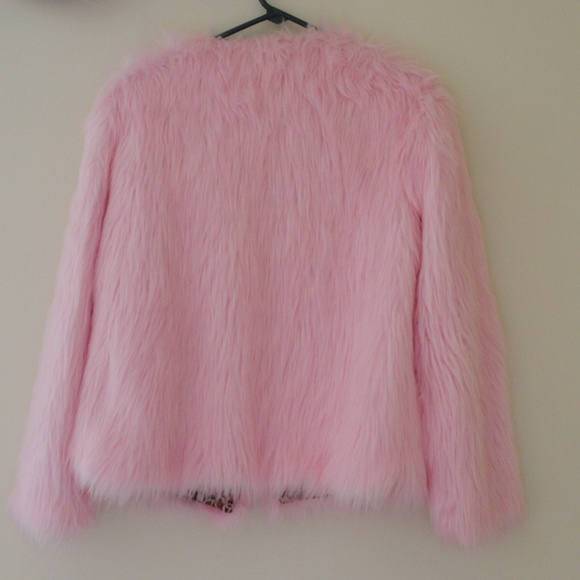 Jackets & Coats - ***SOLD*** FLUFFY PINK BABYGIRL JACKET