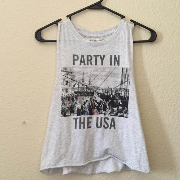 abercrombie fitch tops af party in the usa tank poshmark