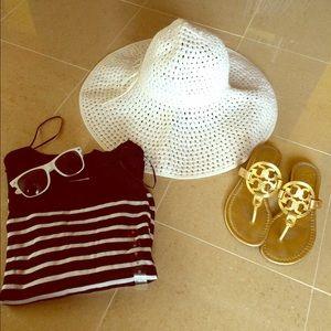 H&M beach hat!
