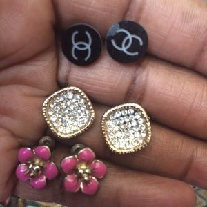 More earrings