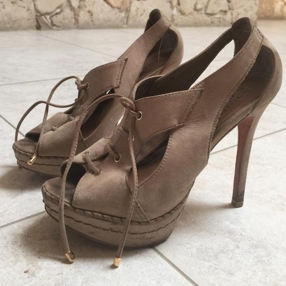 69% off SCHUTZ Shoes - Schutz nude heels, size 7 from Martha's ...
