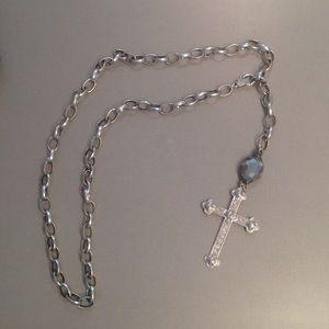 Jewelry - Silver cross necklace