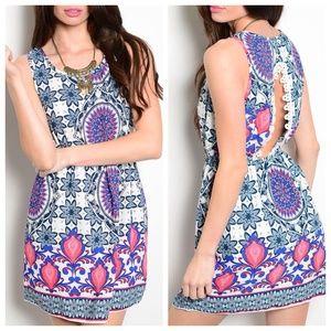Dresses & Skirts - ‼️SALE‼️Kate Multi-Print Lace Dress
