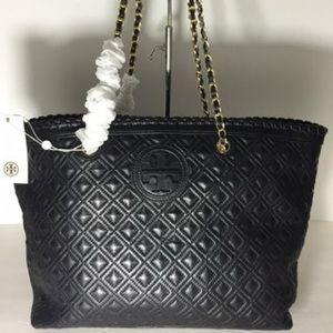 TORY BURCH MARION QUILTED SMALL TOTE