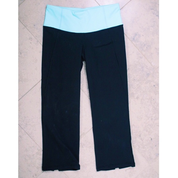 55% off lululemon athletica Pants - Lululemon Cropped Yoga ...