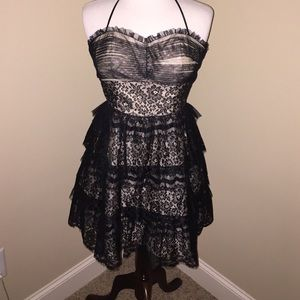 Morgan & Co. Dresses & Skirts - Black Lace Formal Can Can dress