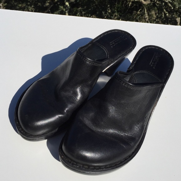 54 born shoes born black leather clogs 10 from miss