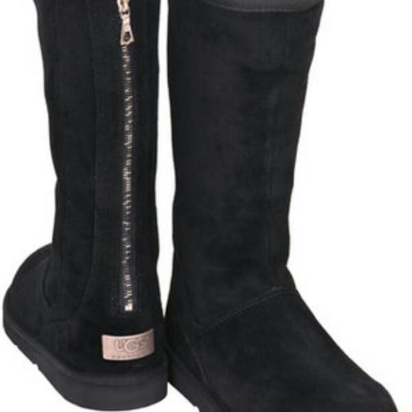 UGG Knightsbridge zip back boots