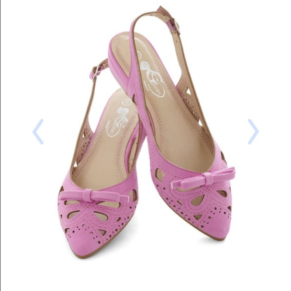 69% Off ModCloth Shoes - Ud83cudf80Host Pick! Cute Pink Flats From Mod Cloth From Kelseyu0026#39;s Closet On Poshmark