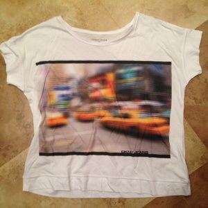 DKNY Tops - New DKNY Graphic Taxi Cabs T-shirt Tee Top L