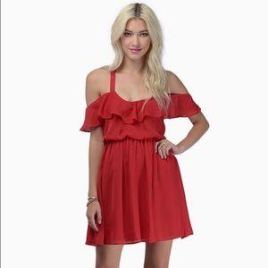 Tobi red dress!