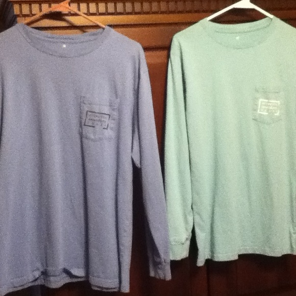 55 Off Other Mens Blue Southern Marsh Long Sleeve T