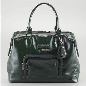 Longchamp large legends verni satchel bag