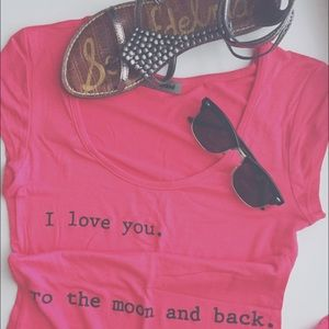 I love you to the moon and back dress