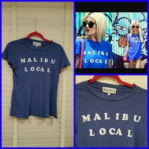 WILDFOX Couture Malibu Local Tee Shirt New Small