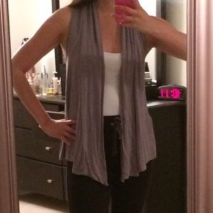 Tops - Drapey Grey Vest