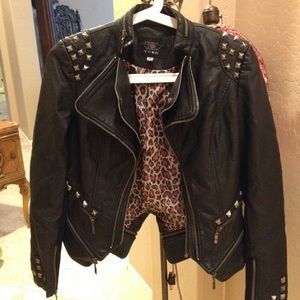 Jackets & Blazers - Faux leather jacket Small