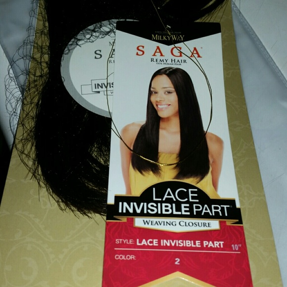 48% off Saga Other - Saga Remy Invisible Part Closure 10 inch from ...
