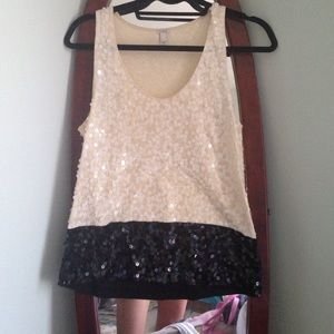 J.Crew sequined top